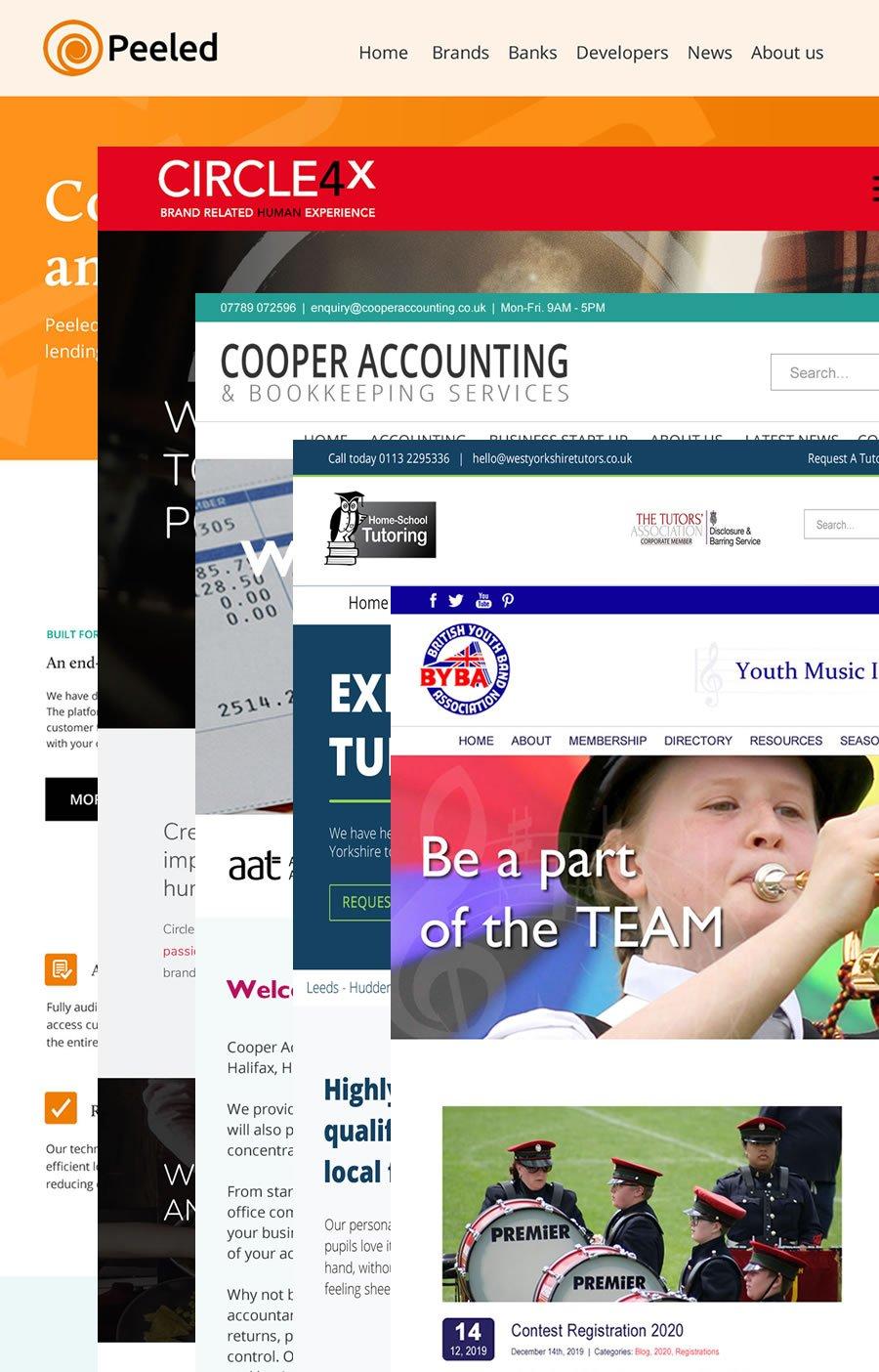 web design huddersfield collage